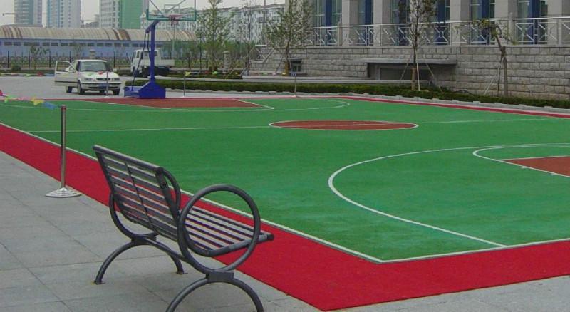 篮球场塑胶地板