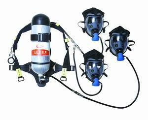供应三人共用空气呼吸器 诺安直销空气呼吸器报价