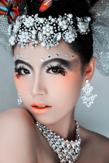 第六感图片 第六感样板图 桂林第六感CIP国际化妆师职业...