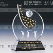 广州优秀员工水晶奖杯厂家定做图片