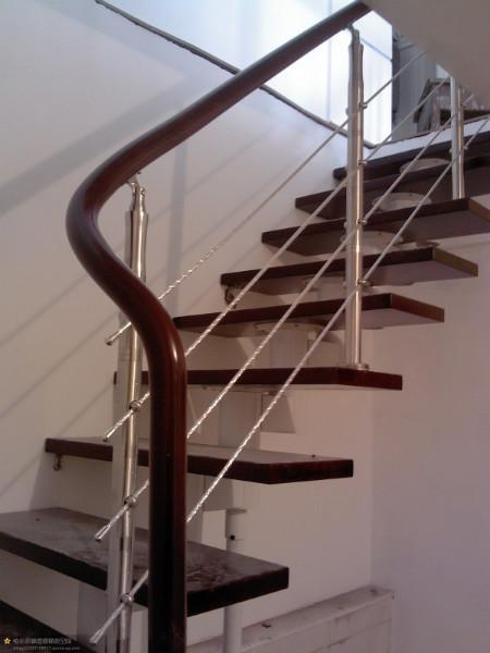 u型实木楼梯