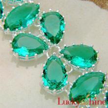 供应时尚潮流新款绿晶石手链现货混批外贸手链创意新款加工批发