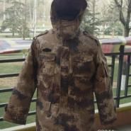 秦皇岛荒漠迷彩棉服图片