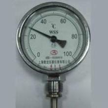 供应wss411双金属温度计管道工业温度表批发
