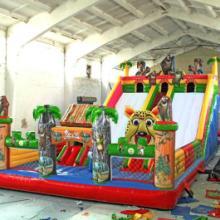 供应儿童大型充气玩具城堡秋千鱼电动毛绒动物电动小火车
