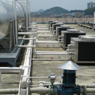 空气能热泵北方部分学校使用工程案图片