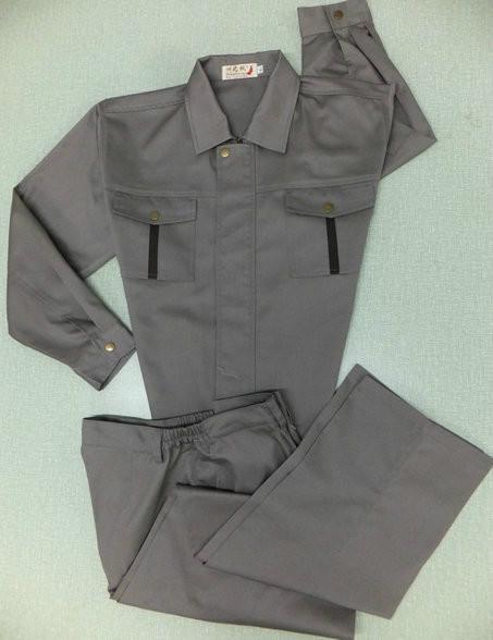 供应宝蓝色夹克款靖江工作服时尚款式员工爱穿的服装