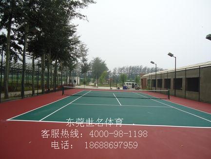 供应黄圃网球场施工图片