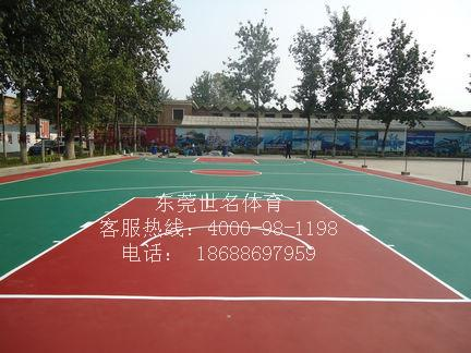惠城惠东惠阳羽毛球场地坪漆,网球场地坪漆,篮球场表面施工