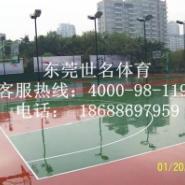 篮球场地面刷漆图片