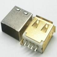 USB母座焊线图片