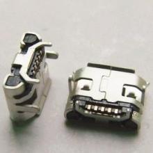 micro USB牛角型大间距插板牛角间距4.85