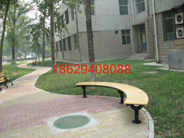 供应成都围树公园椅/户外休闲椅/内蒙古塑木地板/沈阳树围椅