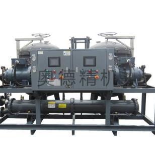 电镀槽控温用螺杆式工业冷水机图片