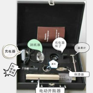 电动红酒开瓶器充电式开瓶器8件套图片