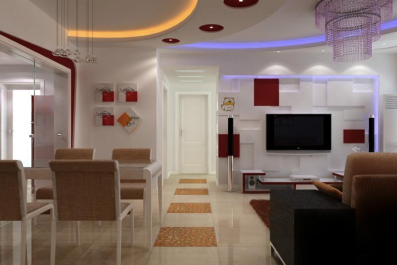 供应现代简装式婚房装修设计 高清图片