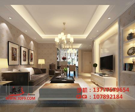 室内装修客厅效果图