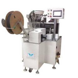 供應ZR-290C全自動電阻穿熱縮套管成型機