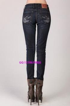 便宜的外贸女士牛仔裤批发图片/便宜的外贸女士牛仔裤批发样板图 (1)