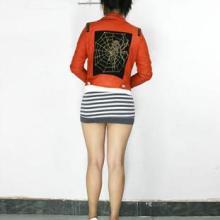 供应女装短款皮衣外套批发——北京女装短款皮衣外套批发(PU材质)