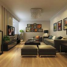 170平米四居室装修设计(恒通新城)图片