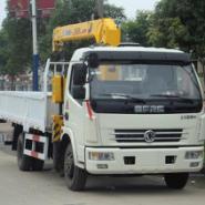 东风多利卡5吨随车起重运输车图片
