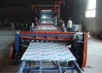 PVC波浪瓦设备 塑料板材生产线图片