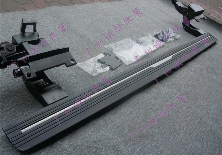 供应路虎揽胜运动版踏板,欧美车系-14款揽胜运动版铝合金平面电动踏板