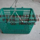 供应商场配套设施│超市购物篮│购物筐│塑料手提篮
