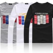 厂家直销 低价位中低档市场 秋冬季服装 男装T恤长袖图片