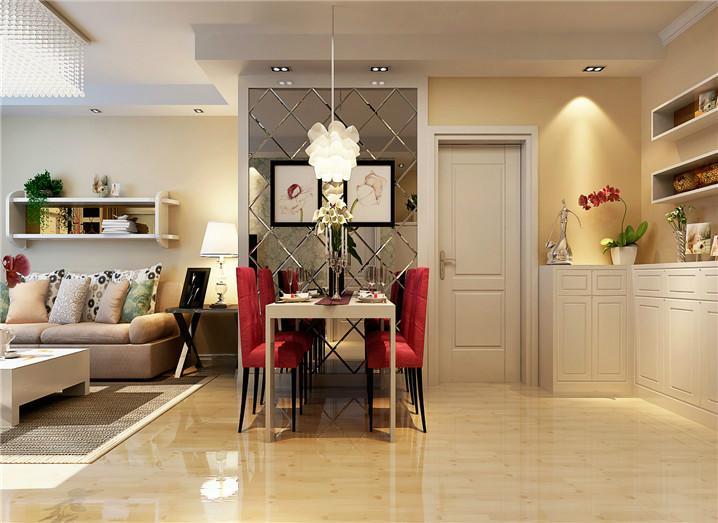 装饰 祈福国际115平三居室装修设计方案 装修效果图价格 郑高清图片