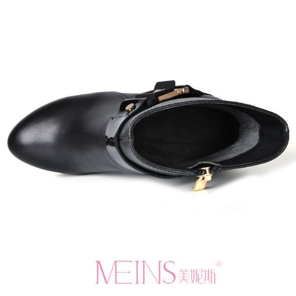 广州/广州真皮高跟女靴样板