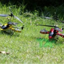 供应合金耐摔四通道遥控飞机直升机