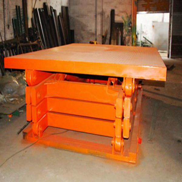 供应大沥固定式液压平台升降机量尺订做