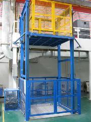 供应吊笼导轨式升降机液压