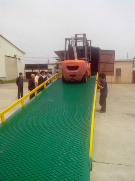 供应清远优质叉车装卸桥上货平台热卖
