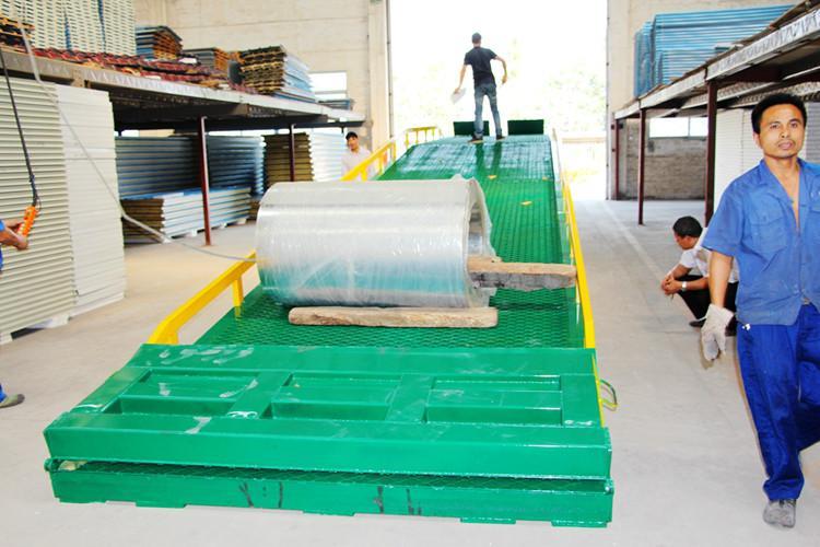 供应10米长移动登车桥现货供应商