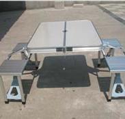 重庆铝合金折叠桌椅图片