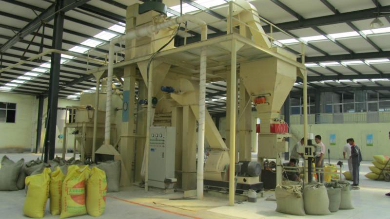 供应鸡鸭预混饲料生产线,饲料机械成套设备机组双鹤机械厂家直销