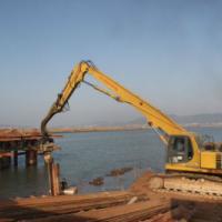 晋江阳光路钢板桩安全作业