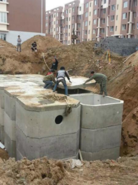 供应预制混凝土化粪池厂家 图
