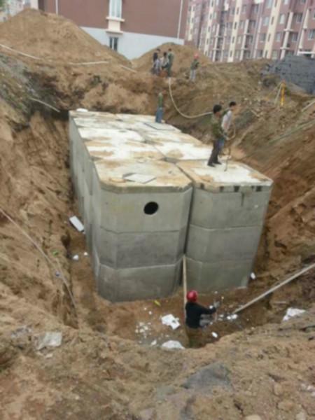供应钢筋混凝土化粪池组装