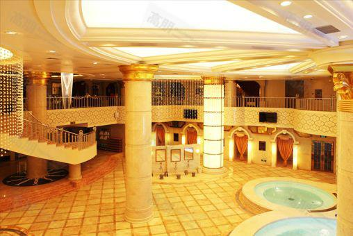 供应天津桑拿洗浴设备玛瑙房火龙浴设计
