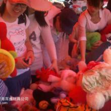 供应桂东抱枕靠垫类毛绒玩具称斤卖批发