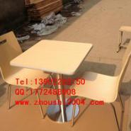根河曲木餐桌椅图片