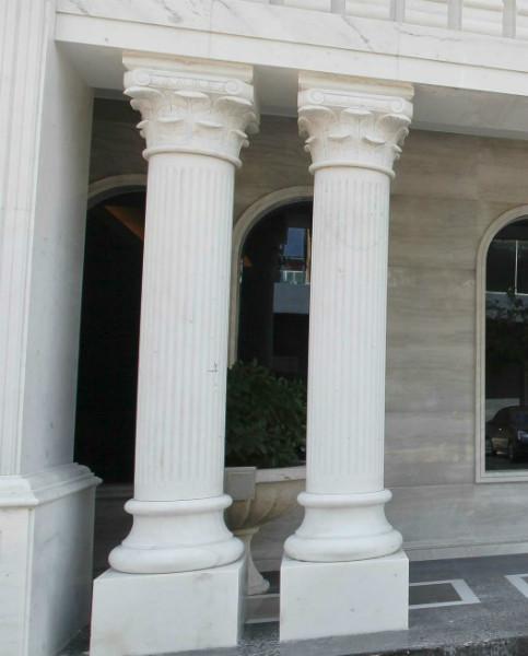 供应天然大理石罗马柱欧式柱子大理石厂家石材厂家