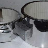 不锈钢皮电阻丝形成陶瓷加热器图片