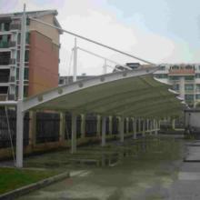 供应漯河钢结构自行车棚—卓越膜结构