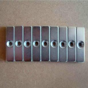 厂家直销打孔磁铁螺丝孔磁铁强磁图片