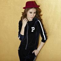 柏度衣品韩国绒套装1113款秋装女款